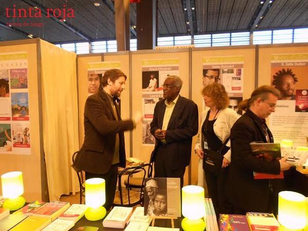 Gilles Colleu, editor en Vents d' ailleurs, nuevo lector de Tinta Roja