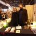 El bandoneonista argentino Pablo Gignoli, residente en París, también estuvo presente en el Salon du livre. —