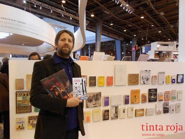Stand de Argentina en el Salon du livre.